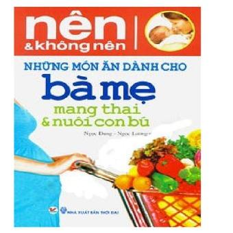 Nên Và Không nên - những món ăn dành cho Bà Mẹ mang thai & chocon bú - 8767446 , TA191MEAA1Z9EKVNAMZ-3367459 , 224_TA191MEAA1Z9EKVNAMZ-3367459 , 39000 , Nen-Va-Khong-nen-nhung-mon-an-danh-cho-Ba-Me-mang-thai-chocon-bu-224_TA191MEAA1Z9EKVNAMZ-3367459 , lazada.vn , Nên Và Không nên - những món ăn dành cho Bà Mẹ mang thai