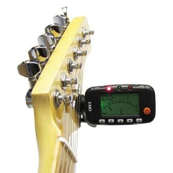 New 3 in 1 LCD Guitar Tuner Metronome Tone Generator ENO EMT-320 - intl