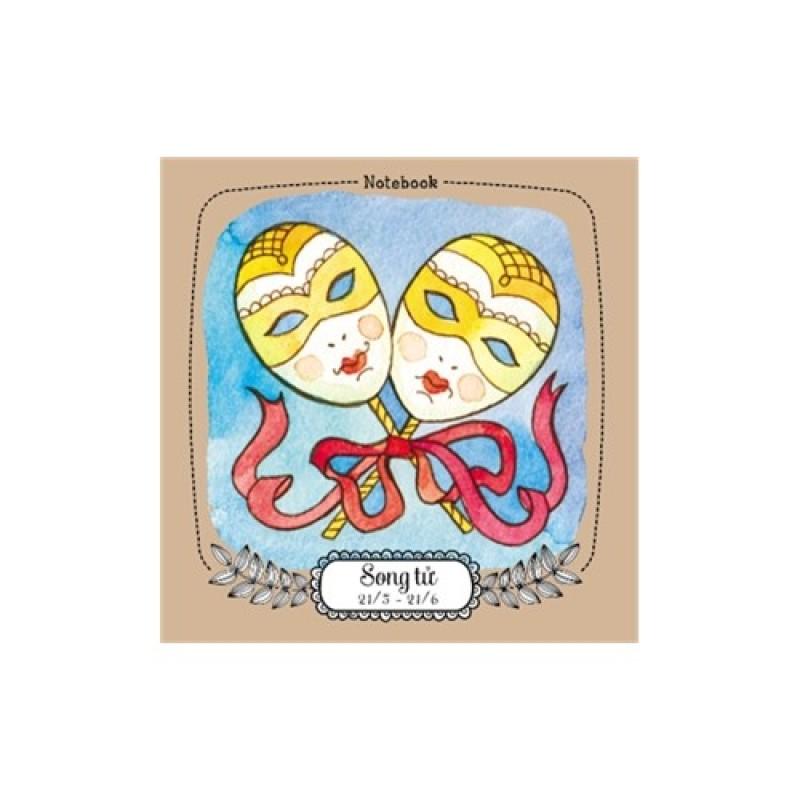 Mua Notebook: 12 cung hoàng đạo - Song Tử (ML03)