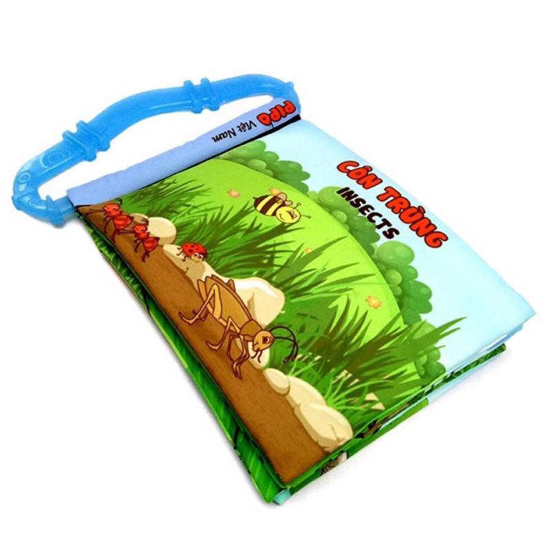 Mua Sách vải cho bé chơi mà học Pipo - Côn trùng