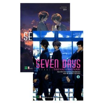 Ebook Seven days (2 quyển/bộ, bản thường) PDF