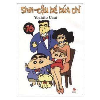 Shin- Cậu bé bút chì- Tập 16 (Truyện ngắn)