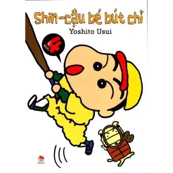 Shin- Cậu bé bút chì- Tập 4 (Truyện ngắn)
