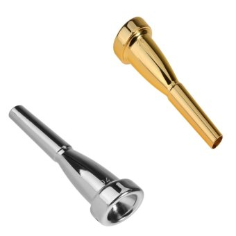 Silver Gold Trumpet Mouthpiece 7C Size for Bach New InstrumentAccessories - intl