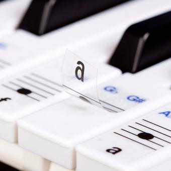 Sticker Nốt Nhạc cho đàn phím