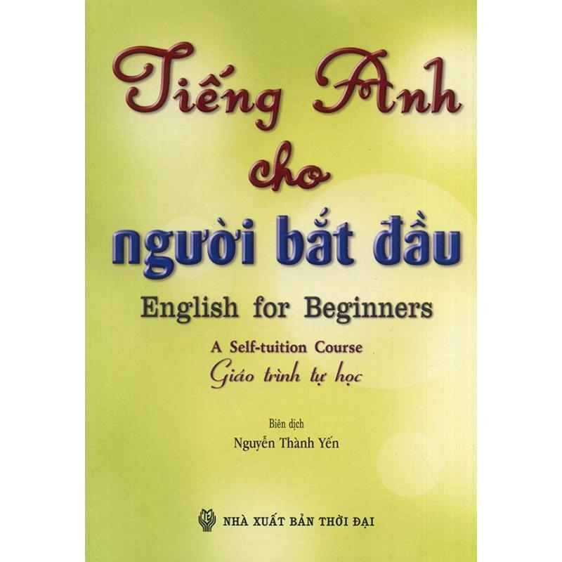Mua Tiếng Anh cho người bắt đầu (kèm CD)