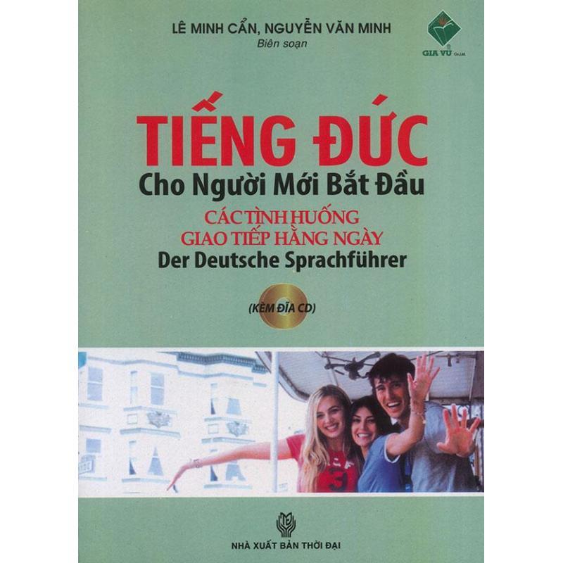 Mua Tiếng Đức cho người mới bắt đầu (kèm CD)