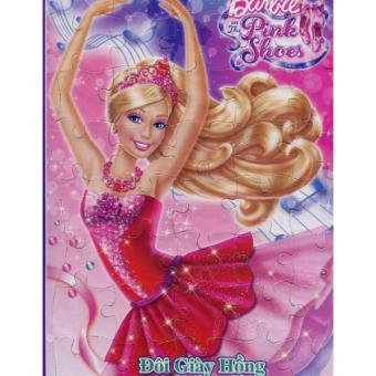 Tranh Ghép Hình Barbie - Đôi Giày Hồng