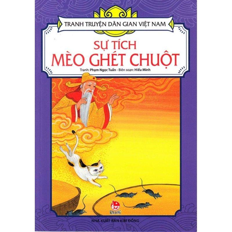 Mua Tranh Truyện Dân Gian Việt Nam - Sự Tích Mèo Ghét Chuột