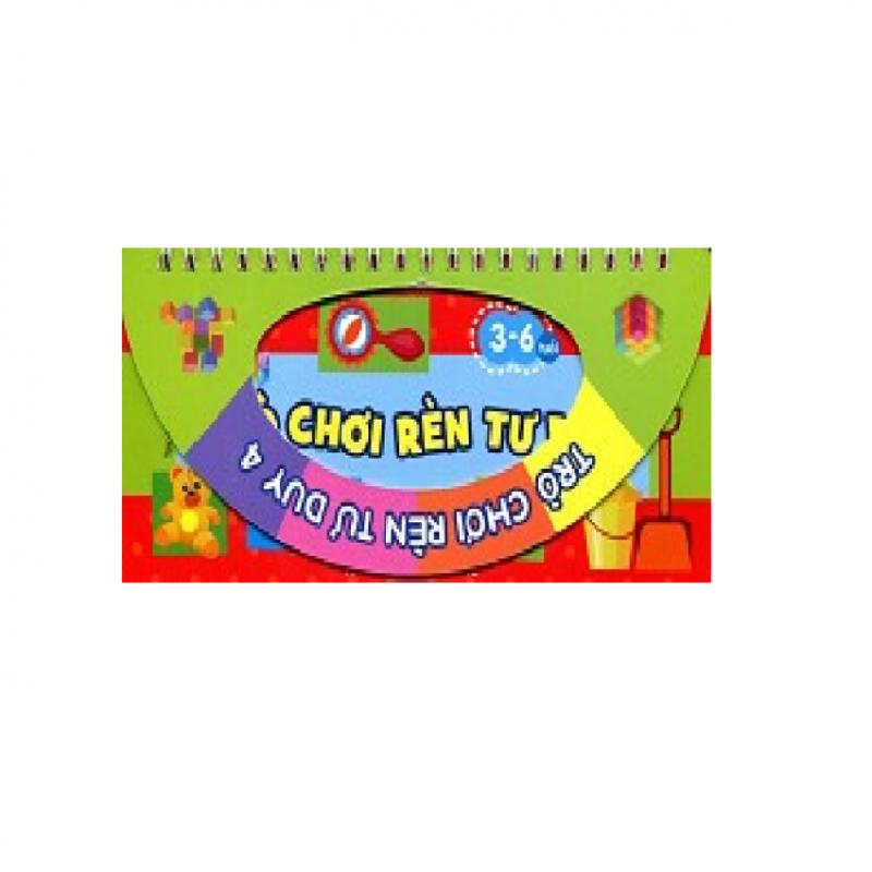 Mua Trò chơi rèn tư duy 4 (3-6 tuổi) 2015