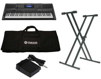 Trọn Bộ Đàn Organ Yamaha E453 + Bao đàn organ 2 lớp + Chân đàn organ kép + Pedal P50