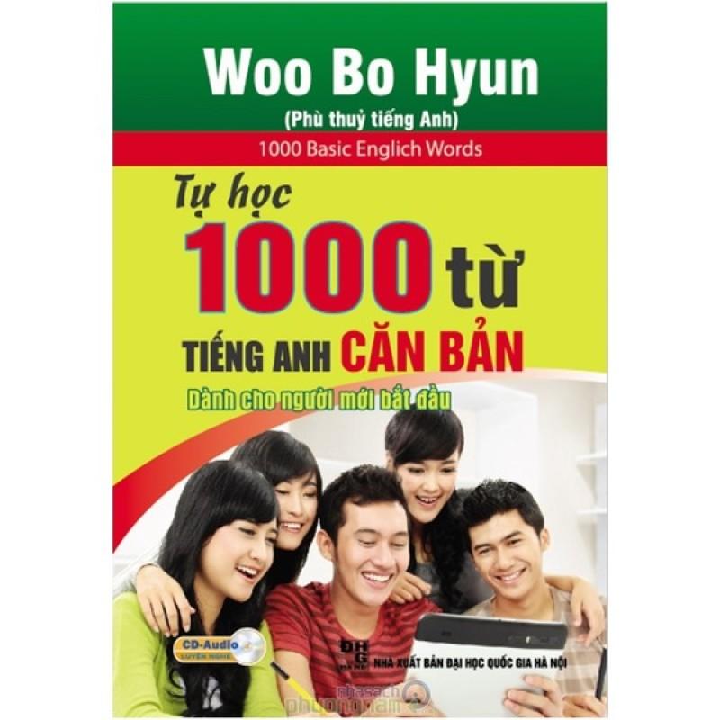 Mua Tự Học 1000 Từ Tiếng Anh Căn Bản Cho Người Mới Bắt Đầu (Kèm CD)