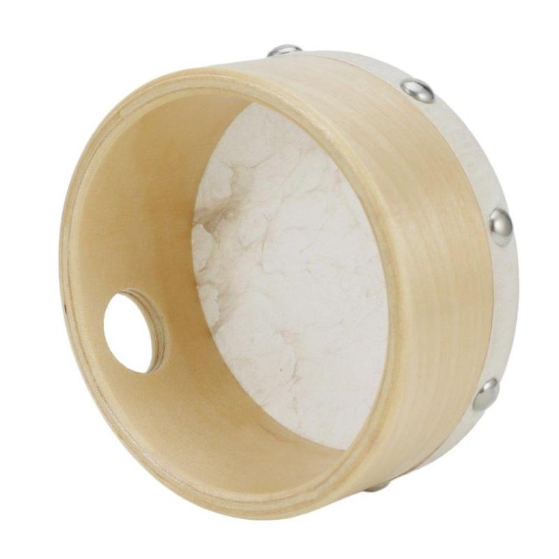 UINN 4 Sheepskin Tambourine Drum Round Wooden Rivet Toys for Gift wood - intl