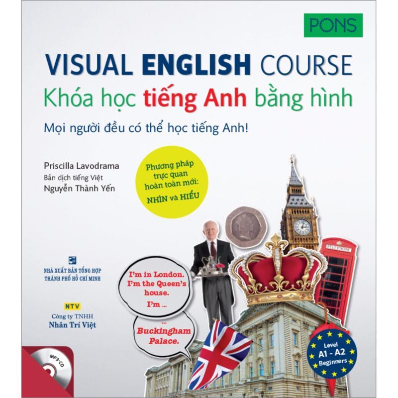 Mua Visual English Course - Khóa học tiếng Anh bằng hình - trình độ A1-A2 (kèm CD)