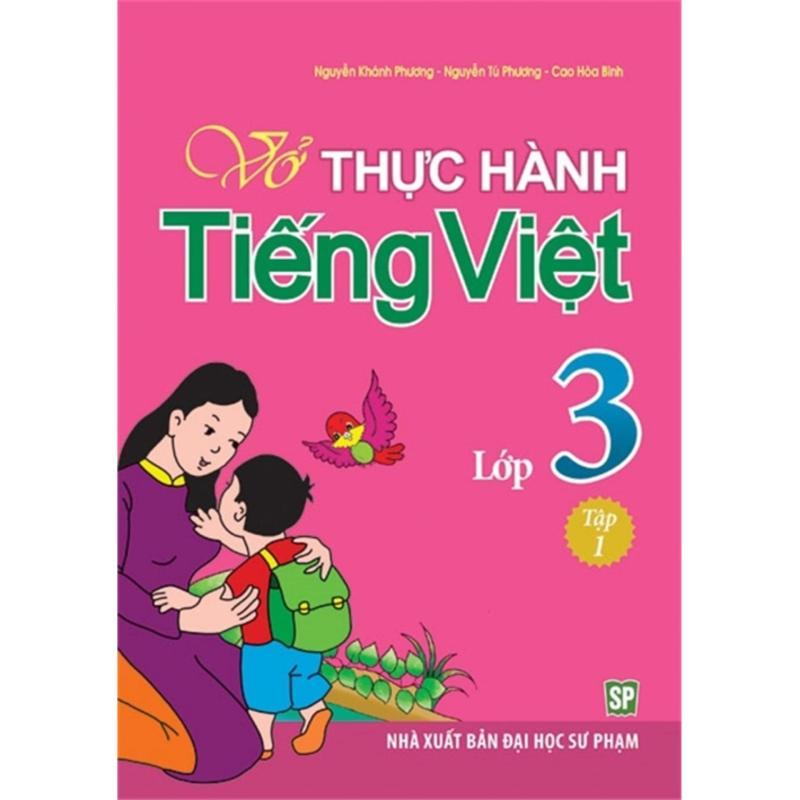 Mua Vở Thực Hành Tiếng Việt Lớp 3Q1 - B18