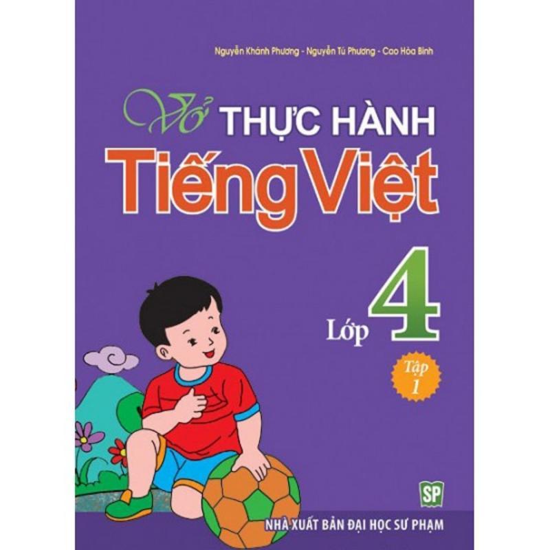 Mua Vở Thực Hành Tiếng Việt Lớp 4Q1 - B18