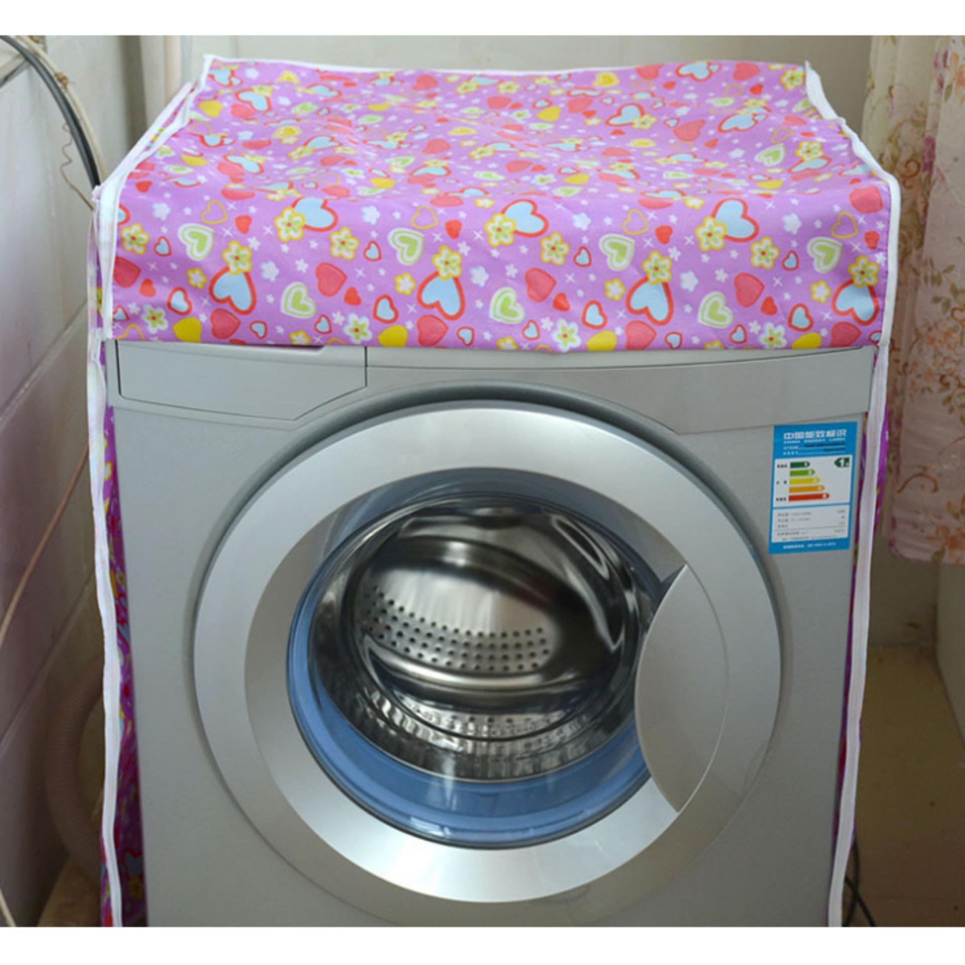 2 Vỏ bọc máy giặt cửa ngang ( tặng túi lưới giặt đồ )