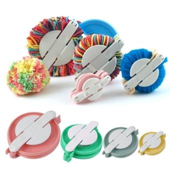 4 Sizes Pompom Maker Ball Weaver Needle Craft Knitting Loom Wool Tool (Multicolor) - intl - 8484543 , OE680HAAA89ZJZVNAMZ-15930732 , 224_OE680HAAA89ZJZVNAMZ-15930732 , 259740 , 4-Sizes-Pompom-Maker-Ball-Weaver-Needle-Craft-Knitting-Loom-Wool-Tool-Multicolor-intl-224_OE680HAAA89ZJZVNAMZ-15930732 , lazada.vn , 4 Sizes Pompom Maker Ball Weaver