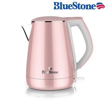 Ấm đun siêu tốc BlueStone KTB-3351 3 lớp, ruột inox 304 an toàn sứckhỏe 1.5L (Hồng)