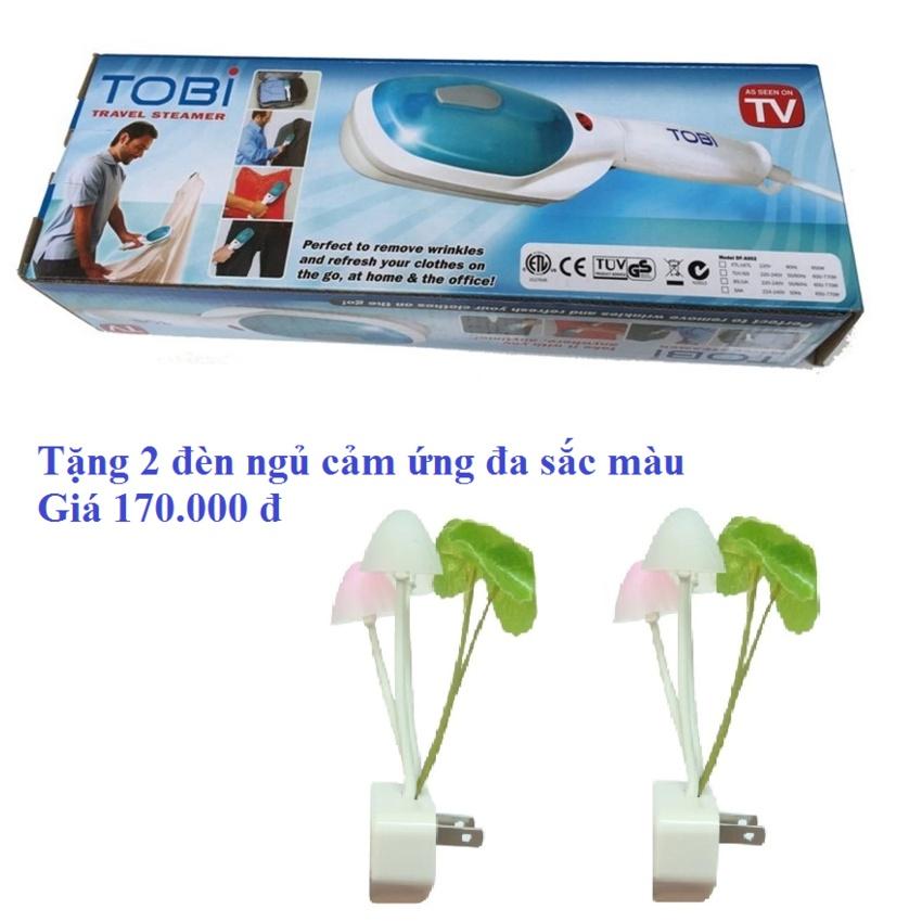 Bàn ủi hơi nước cầm tay Tobi TV (Tặng 2 đèn ngủ cảm ứng)