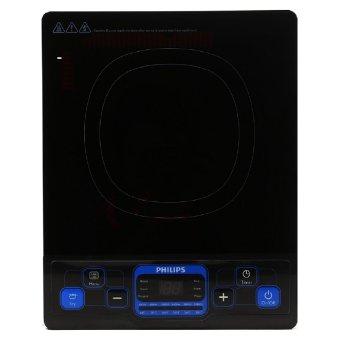 Bếp điện từ Philips HD4921/00 (Xanh đen) (Nồi lẩu đi kèm) - Hãng phân phối chính thức