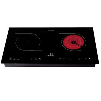 Bếp đôi điện từ hồng ngoại Noble NB-D338 (Đen)