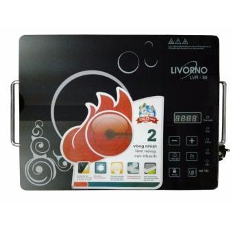 Bếp hồng ngoại cảm ứng 2 vòng nhiệt Livorno LVR-88
