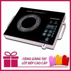 Bếp hồng ngoại cảm ứng cao cấp Sunhouse SHD6017 công nghệ Hàn Quốc