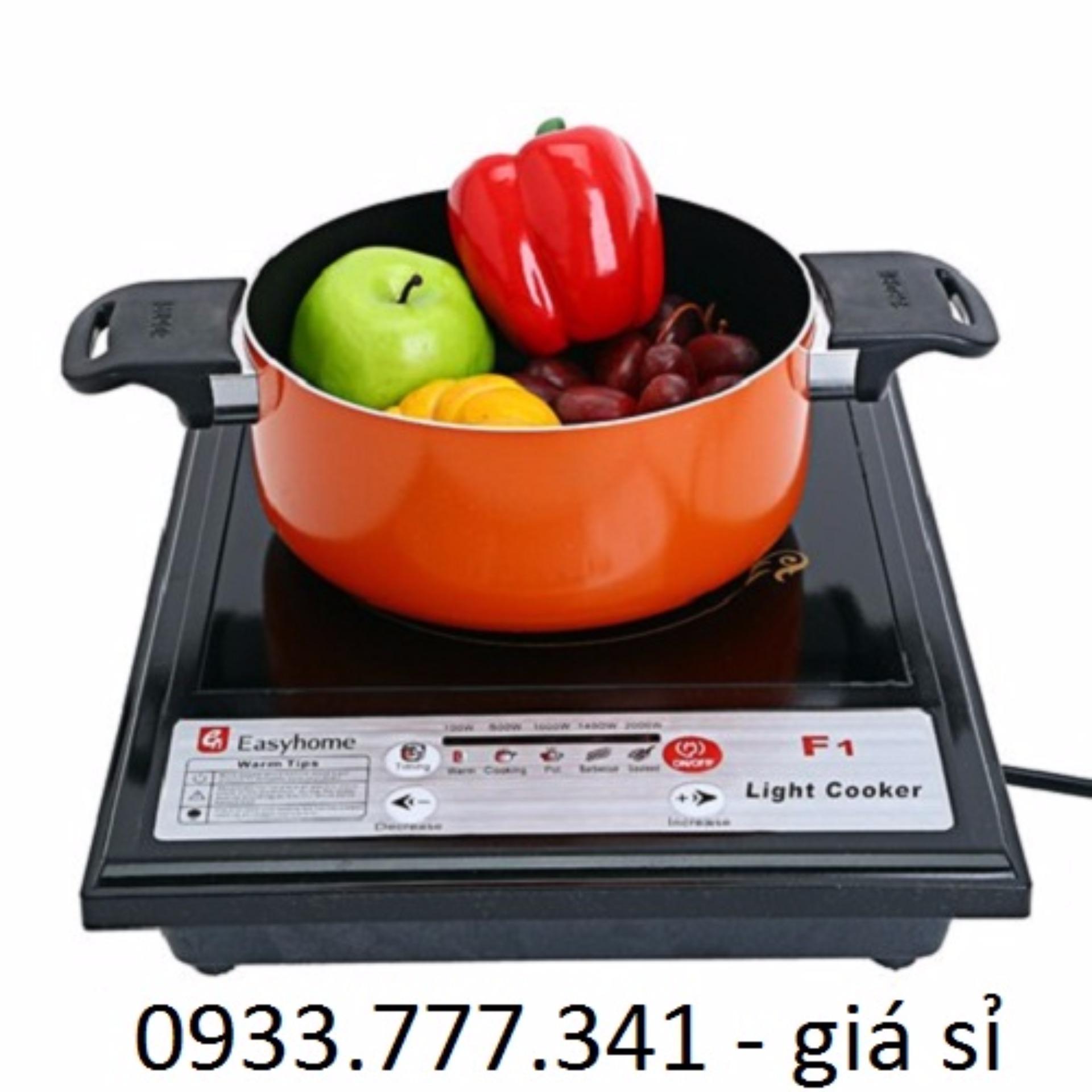 Bếp hồng ngoại Halogen Easyhome (Nút nhấn cơ)