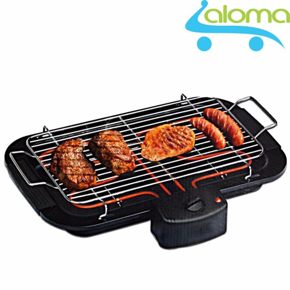 Bếp nướng điện không khói 2000W Barbecue Grill EBG-2K Tặng bộ thìa đũa Inox