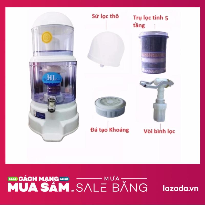 Bình lọc nước uống trực tiếp cao cấp Hưng Long Magma.Q 15L