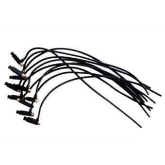 Bộ 10 sợi IC đánh tia lửa điện magneto mini du lịch đa năng(đen)
