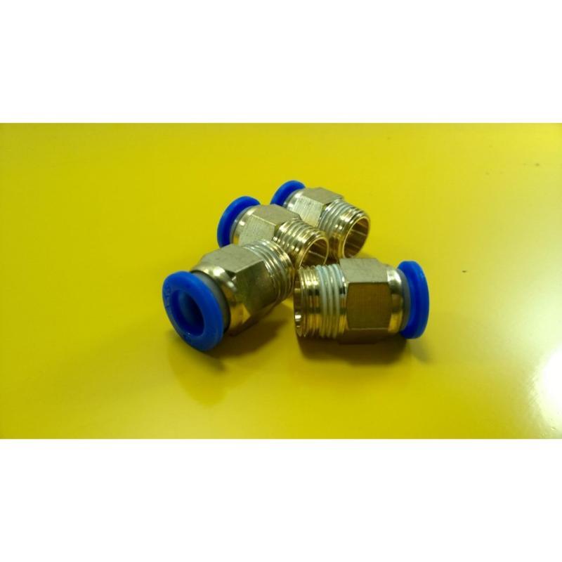 Bảng giá Bộ 5 nối nhanh ren ngoài M14x8 (ren ngoài 14; nối ống 8mm)