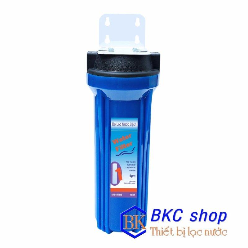 Bộ lọc nước sinh hoạt 1 cấp lọc 10 inch (xanh)