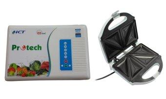 Bộ máy khử độc thực phẩm cao cấp Bách Khoa Protech và máy nướng bánh Nikai SF-01