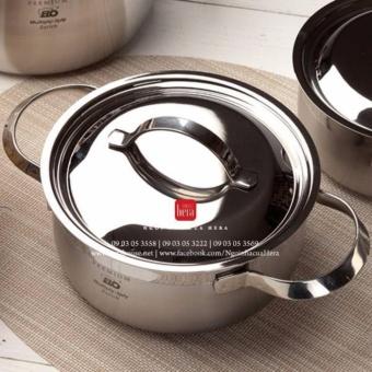 Bộ nồi Elo Zurich Multipayer inox bếp từ inox 304