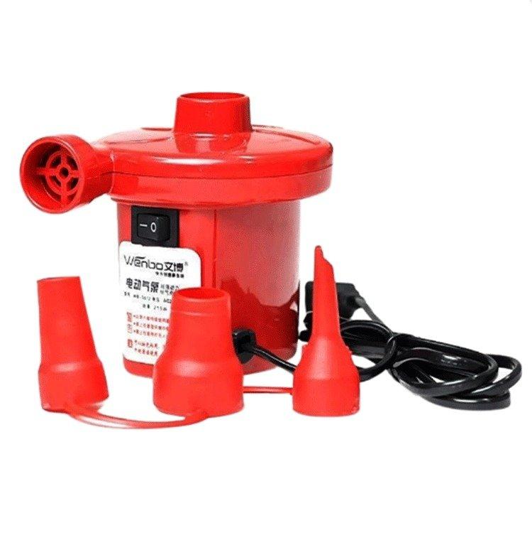 Bơm điện 2 chiều bơm và hút chân không BenHome (Đỏ)