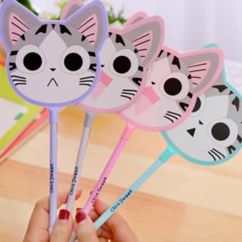 Bút Bi Quạt Mèo Niko Xinh Yêu( Giao Màu Ngẫu Nhiên)