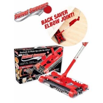 Chổi điện không dây Cordless Swivel Sweeper (Đỏ)