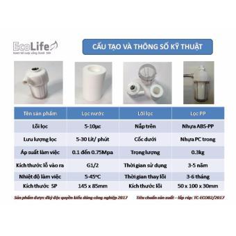 Cốc lọc nước cho bình nước nóng