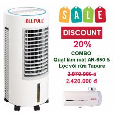 Bảng giá Combo air cooler Allfyll Thailand model AR-650 and faucet filter model tapure safe for washing foods, cooking