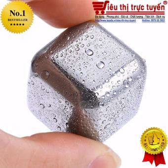 Đá kim loại đặc biệt làm lạnh/nóng đồ uống không tan 8 viên RemaxIce Cube - Đại siêu thị Việt Nam