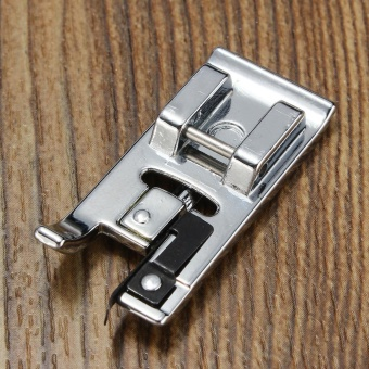Domestic Household Low Shank Sewing Machine Overcast Presser Foot for Brother Sliver - intl