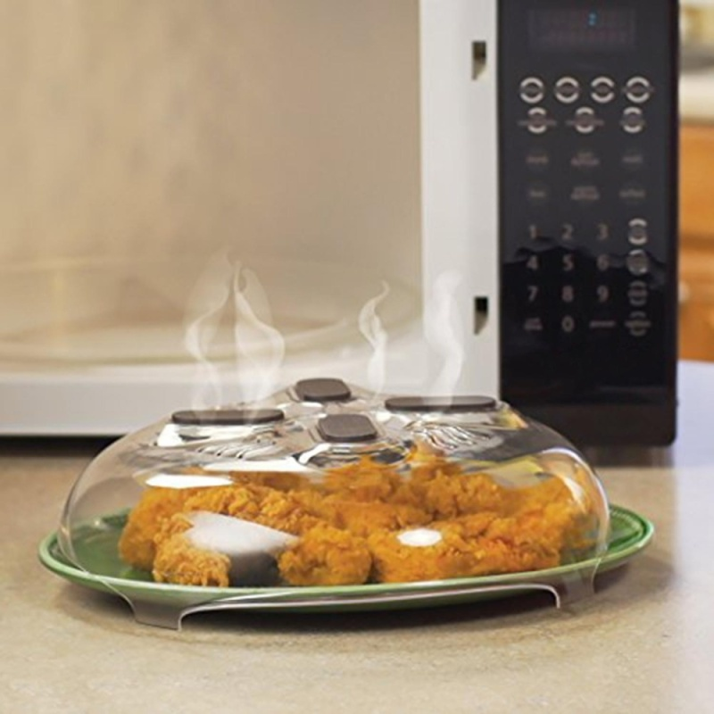ERA Magnet Splatter Guard Microwave Hover Anti-Sputtering Cover With Steam Vent - intl