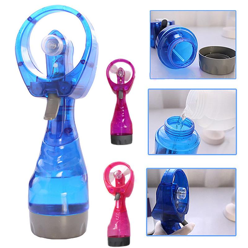 Handheld Portable Water Spray Travel Fashion Battery Operate MistFan Cooler