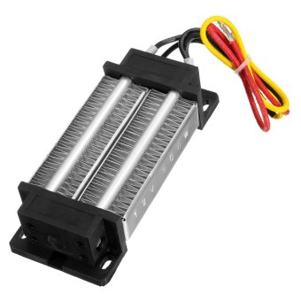 Insulated PTC ceramic air heater constant temperature heatingelement 200W AC/DC 12V incubator NEW - intl