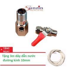Khẩu chia nước đầu vào dành cho các loại máy lọc nước, tặng 3m dây dẫn nước 10mm