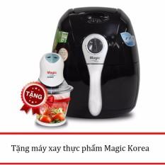Lò chiên nướng chân không Magic Korea A71 2.2L (Đen) + Tặng 1 máy xay thực phẩm