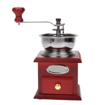 Manual Crank Adjustable Coffee Grinder(Intl)