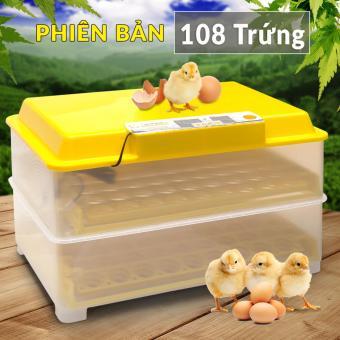 Máy ấp trứng Ánh Dương A100 - Ấp Tối Đa 108 Trứng - Tự Động HoànToàn - Lắp Sẵn